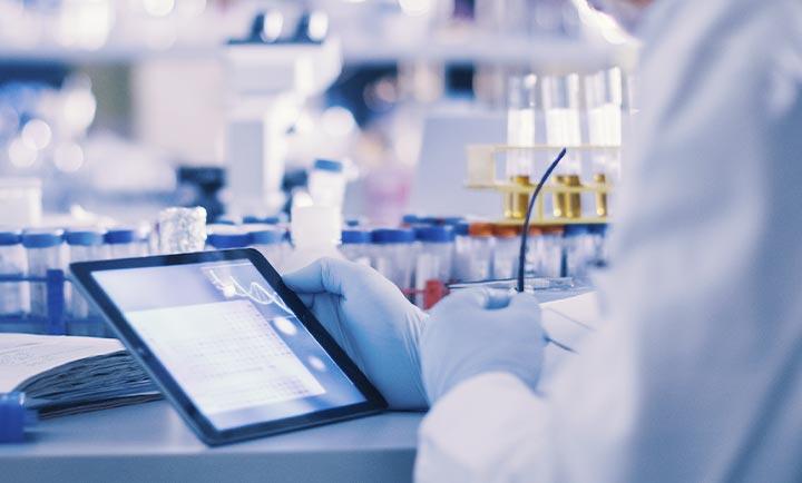 化学分析機器サポート