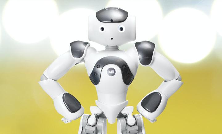 ヒューマノイドロボット NAO