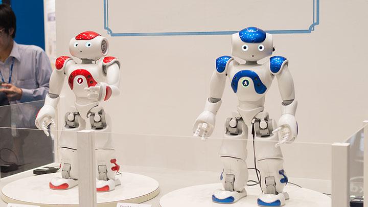 ロボットNAO導入事例: 展示会ブースでのパフォーマンス(ヒューマンキャピタル)