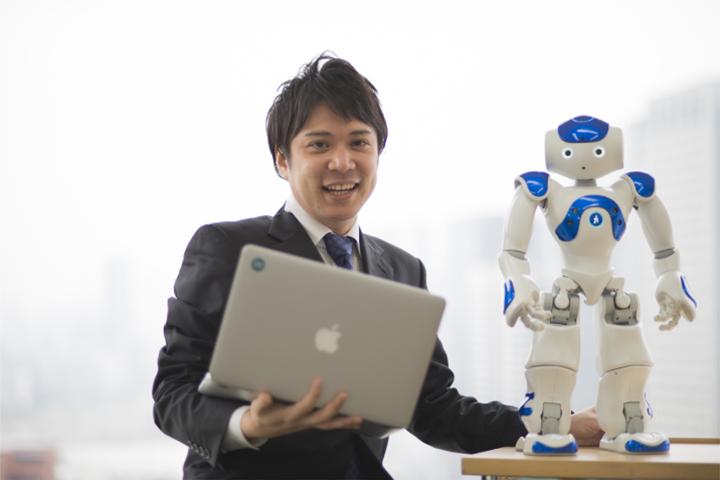 ロボットNAO: ロボットの営業・開発の現場から