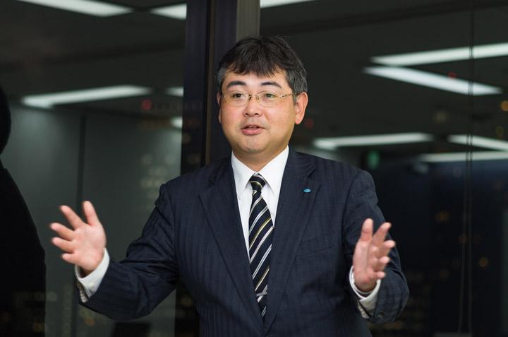 森嶋 孝輔 営業統括企画本部 新規サービス担当 営業開発マネージャ