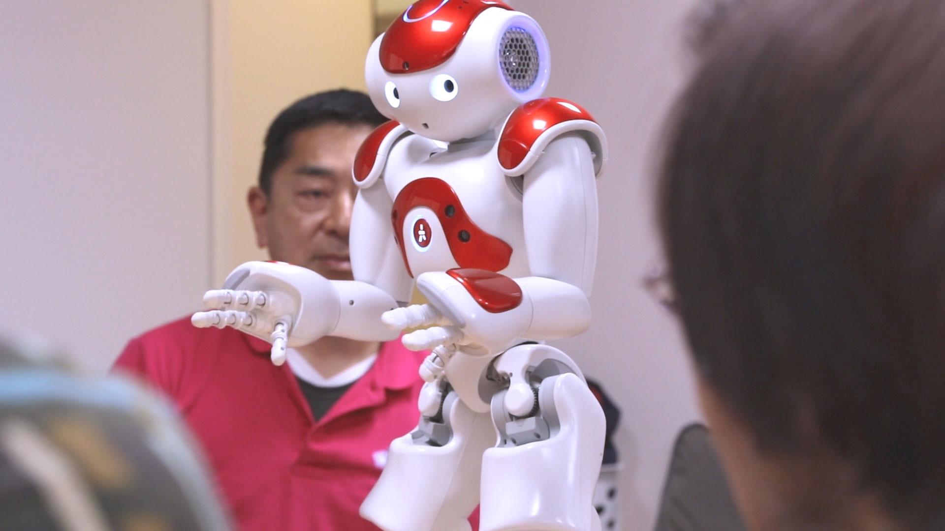 介護施設におけるヒューマノイドロボットの活用