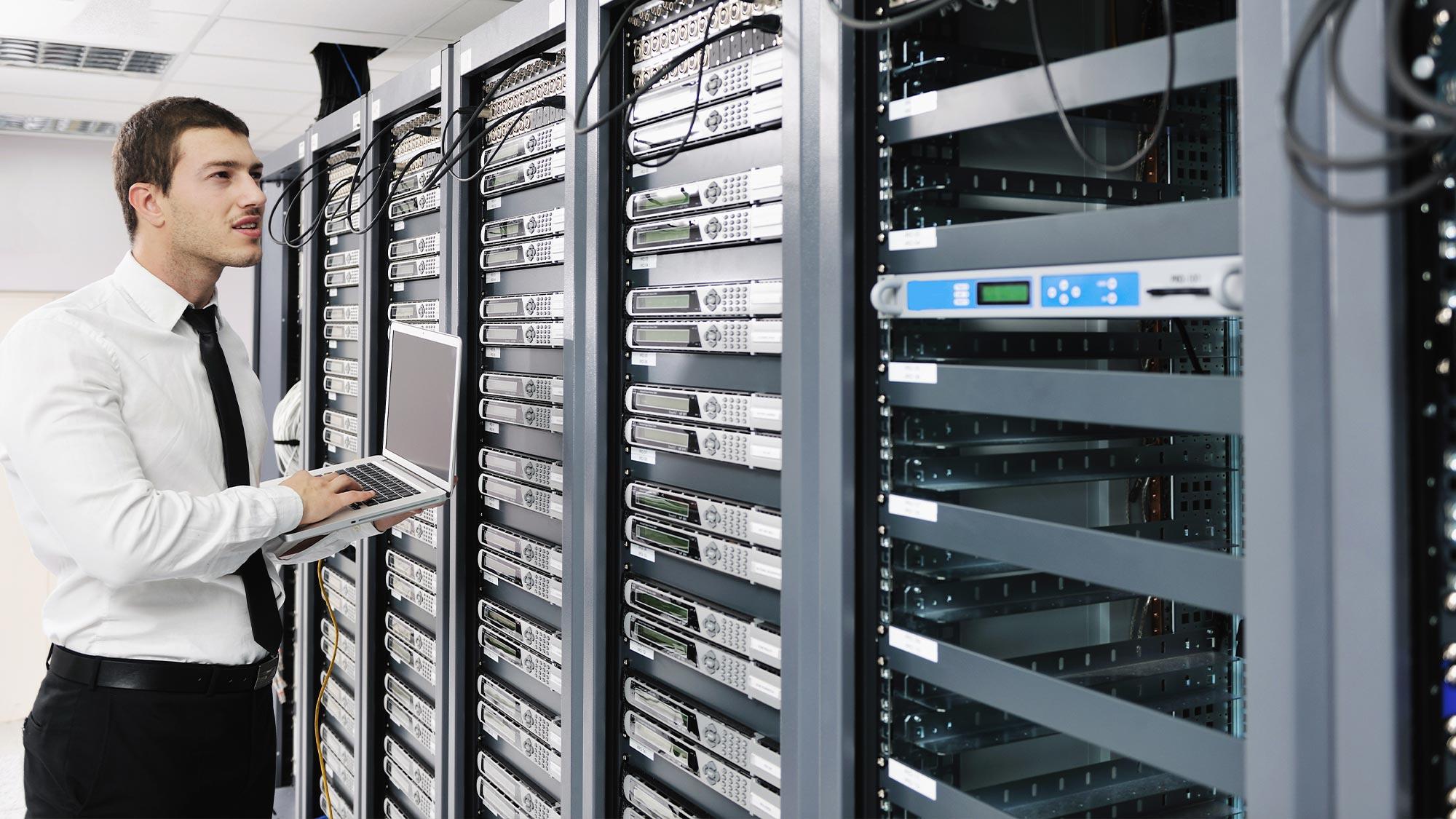 ITインフラストラクチャの構築